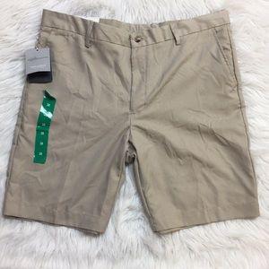 NWT Greg Norman Signature Flat Front Shorts